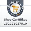 Geprüfter Shop - OnTrustNet Zertifikat 152221037910