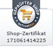 Zertifizierter und Geprüfter Onlineshop