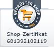 Shop Zertifikat
